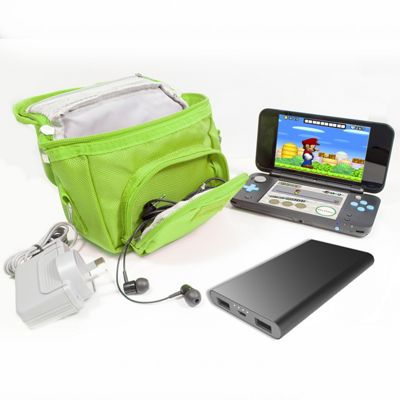 Orzly Game and Console Travel Bag for Nintendo DS - Green