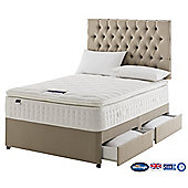 Silentnight Charlton Divan Bed, 2000 Pocket Latex