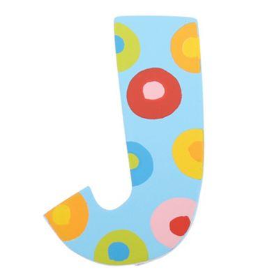 Tatiri Spots & Stripes Letter J (Spots)