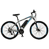 "Spark Mens 27.5"" Wheel Electric Mountain Bike, Grey"