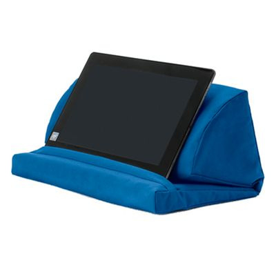Blue Water Resistant Pull Out Foam Laptop Tablet Stand