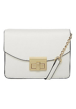 F&F Boxy Occasion Cross-Body Bag White One Size