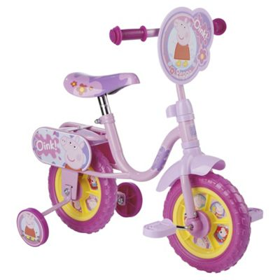 Buy Peppa Pig 10 Kids Bike With Stabilisers From Our Bikes With