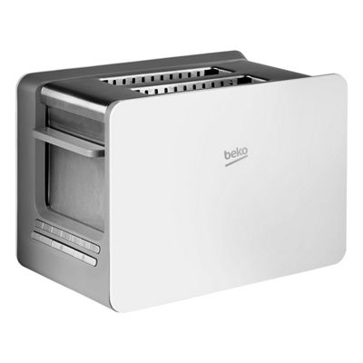 Beko BEK-TAM6202W 2 Slice Toaster LED Interface Extra Wide Slots White