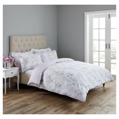 Fox & Ivy Garden Birds Duvet Set Single