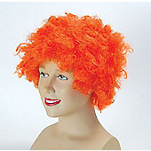 Bristol Novelty - Afro Wig - Orange