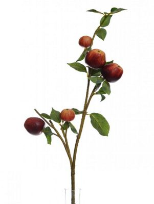 Artificial - Branch with Red Apples