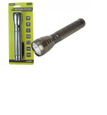 Summit 3W Aluminium Torch with CC Batteries
