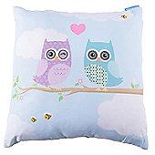 Lauren Billingham Love Owls Printer Scatter Cushion