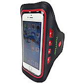 Tunturi Running LED Sport Smartphone Armband - Red