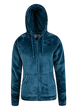Mountain Warehouse Snaggle Womens Hooded Fleece ( Size: 8 )