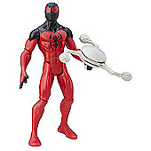 Marvel Ultimate Spider-Man Sinister 6: 15cm Action Figure - Scarlet Spider