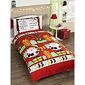 Santa's List Junior Duvet Cover Set