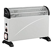 Ferretti FE-CH200TTWH White Convector Heater with 3 Heat Settings and 24 hour Timer
