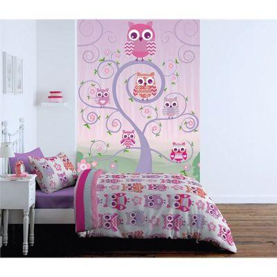 Catherine Lansfield Owl Kids Wall Art