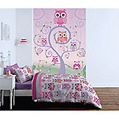 Catherine Lansfield Owls Wall Mural 232cm x 158cm