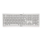 CHERRY KC 1000 Wired USB Keyboard - Pale Grey