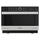Hotpoint-MWH338SX 900W Combination Microwave with 33L Capacity in Black