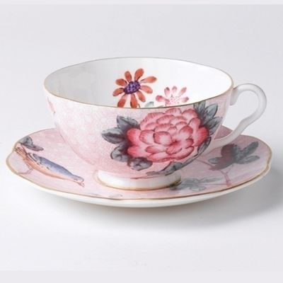 Wedgwood Cuckoo Pink Cup and Saucer 0.18L