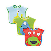 B Baby's Monster Bib - 3 Pack