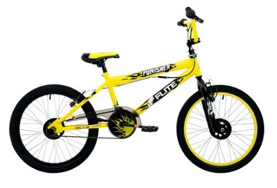 Flite Punisher 20 Inch BMX Yellow