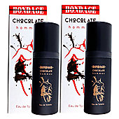 Bondage Chocolate Hommes Milton Lloyd Eau de Toilette 2 x 50ml