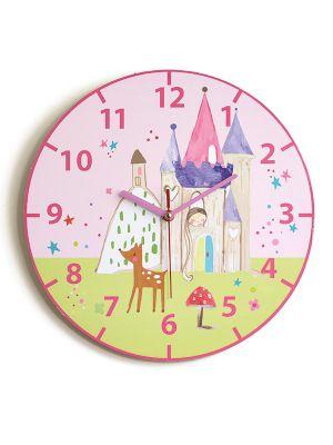 Woodland Fairies Princess Wall Clock