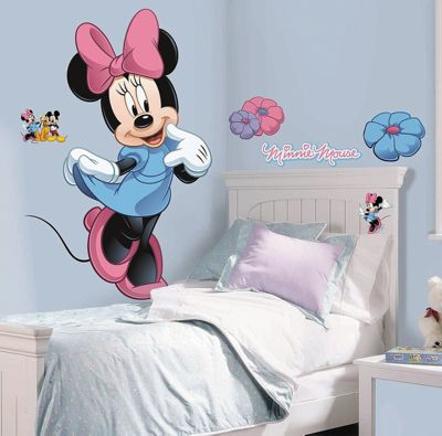 Disney Mickey's Clubhouse Minnie Mouse Giant Wall Sticker