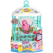 Little Live Pets Bird with Cage S5 - Ruby Belle (Pink)