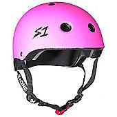 S1 Helmet Company Mini Lifer Helmet - Pink Matt (Medium)
