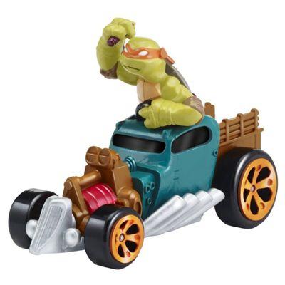 Teenage Mutant ninja Turtles T-Machines Mikey In Hot Rod