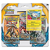 Pokemon: Sun & Moon Triple Booster Pack (Litten or Togedemaru Supplied)