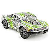 Ftx Surge Rtr 1/12th Brushed Short Course Truck - (green)99% Ready-To-Run 1/12th Scale