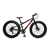 Coyote Skid Row 26 Inch Wheel Black Bike