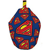 Superman / Supergirl Beanbag