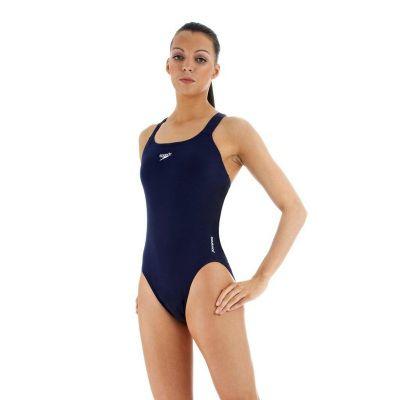 Speedo Women's Endurance+ Medalist Swimsuit Navy 40