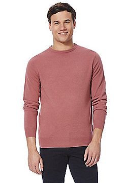 F&F Soft Touch Crew Neck Jumper - Dusky pink