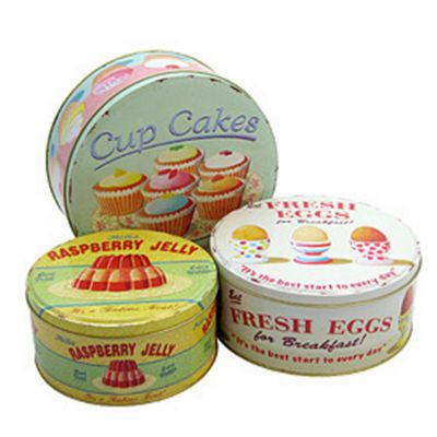 ECP Designs Cake Tin Set of 3 - Assorted