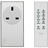 Megaman LightwaveRF 3000W Remote On/Off Socket Kit (White)