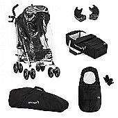 Baby Jogger Vue Stroller Bundle - Black