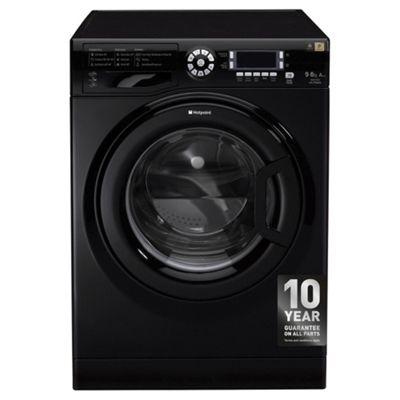 Hotpoint WDUD9640K Ultima 9KG Washer Dryer - Black