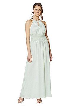 Vila Halterneck Bridesmaid Dress - Mint