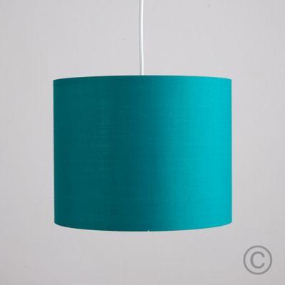 MiniSun 25cm Ceiling Pendant Rolla Shade, Teal