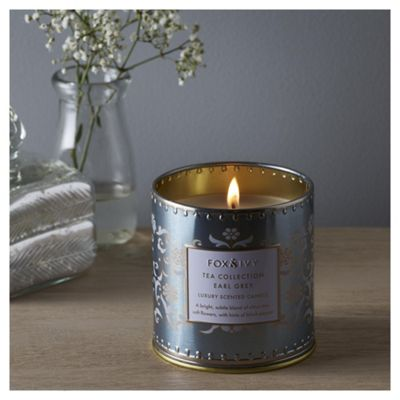 Fox & Ivy Earl Grey Luxury Scented Filled Candle