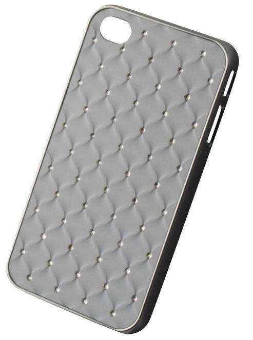 Tortoise™ Hard Case iPhone 4/4S Diamante Quilt White