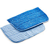 VonHaus Set of 2 Microfiber Mop Pads Replacement Microfiber Pads