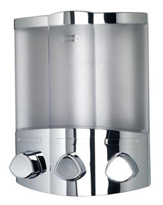 shower p locking htm triple dispenser bathroom stylish addition