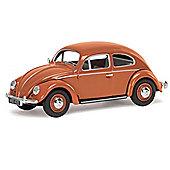 CORGI VA01207 VW Beetle, Coral Oval Rear Window Saloon