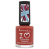 Rimmel Lasting Nail Polish Orange Your Life