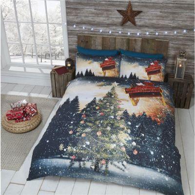 Rapport Northern Lights Christmas Duvet Cover Set - Single